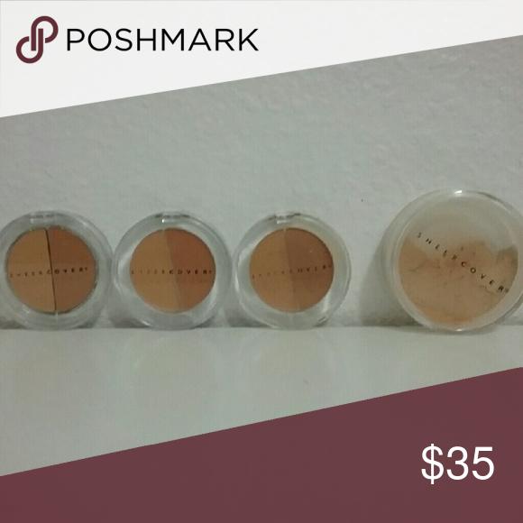 New Sheer Cover Duo Concealer 3 pc Concealer, Makeup