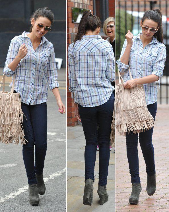 Michelle Keegan Casual Style   Pretty