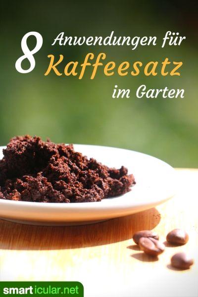 8 Anwendungen für Kaffeesatz im Garten - bitte nicht wegwerfen!