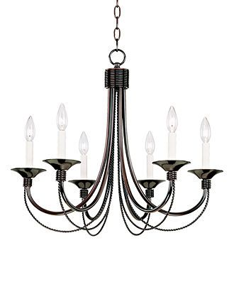 Pacific coast chandelier twisted rope bedroom lighting for the home macys
