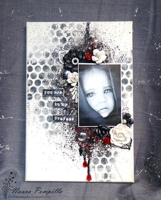 "Media Craft Studio: Canvas ""Shades of black"""