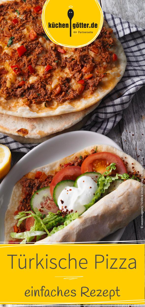 Israelische Pizza