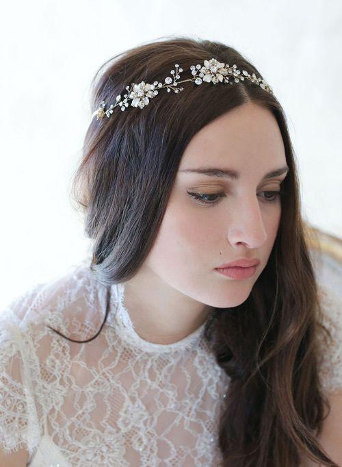 Ngẫu hứng với hoa – thời trang tóc cô dâu lên ngôi năm 2015 - 7