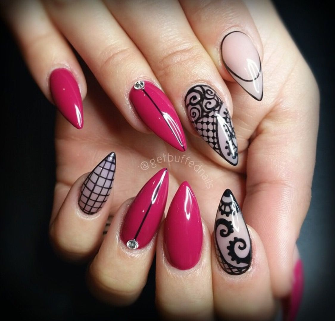 Pin by Schnee Orosco on Nails | Pinterest | Manicure, Crazy nails ...