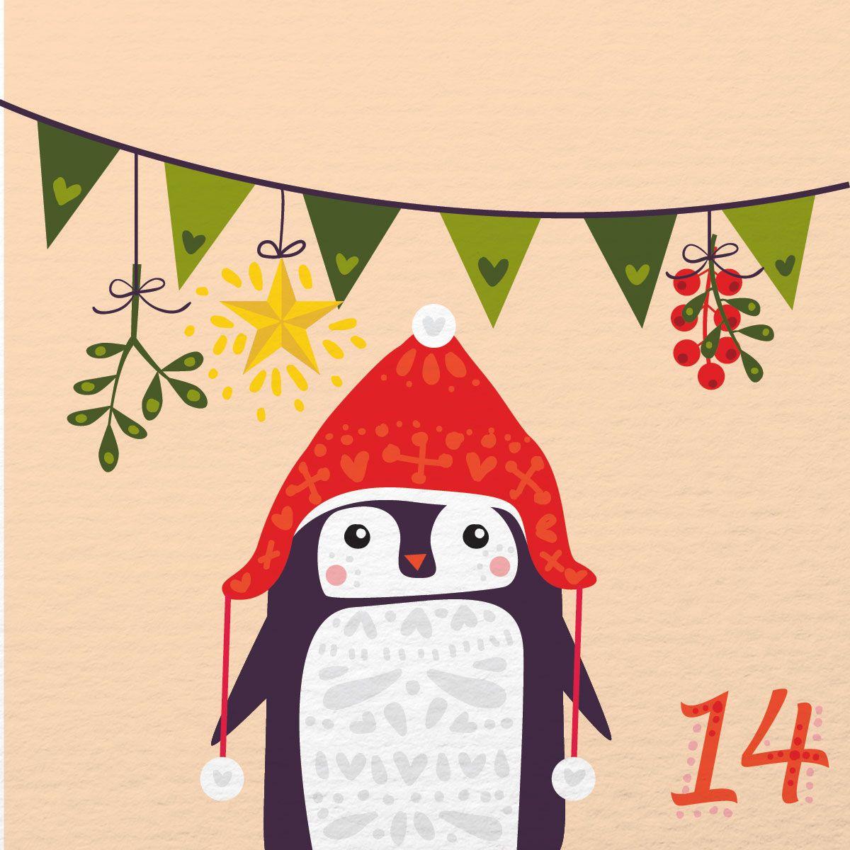Illustrated Advent Calendar Day 14 Christmas Advent Calendar Advent Art Christmas Calendar