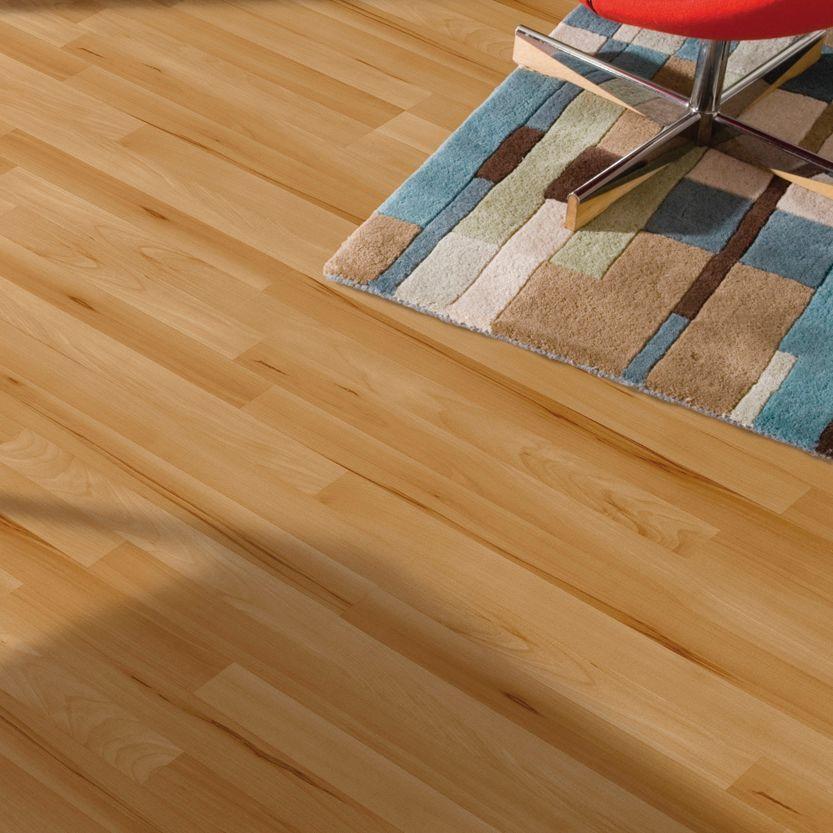 Beech Effect Laminate Flooring 25 M Pack Departments Diy At
