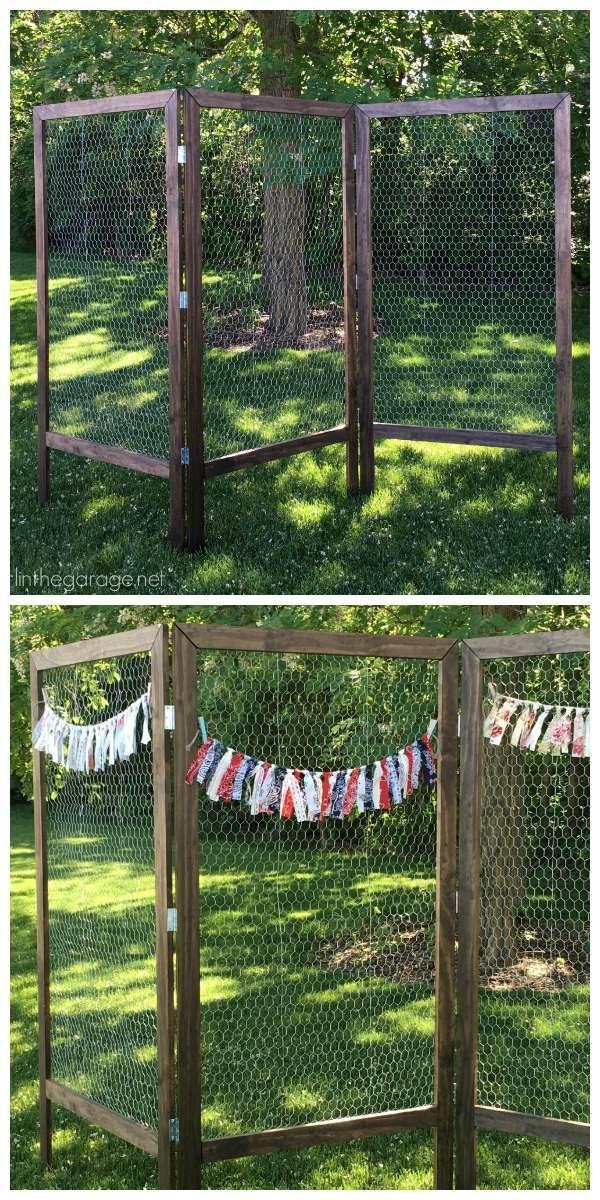 Comment décorer sa clôture de jardin en objets récup- 20 idées