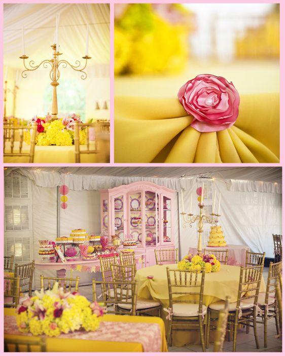 Be Our Guest Party Decor Ideas Pinterest Princess belle Extraordinary Belle Party Decorations