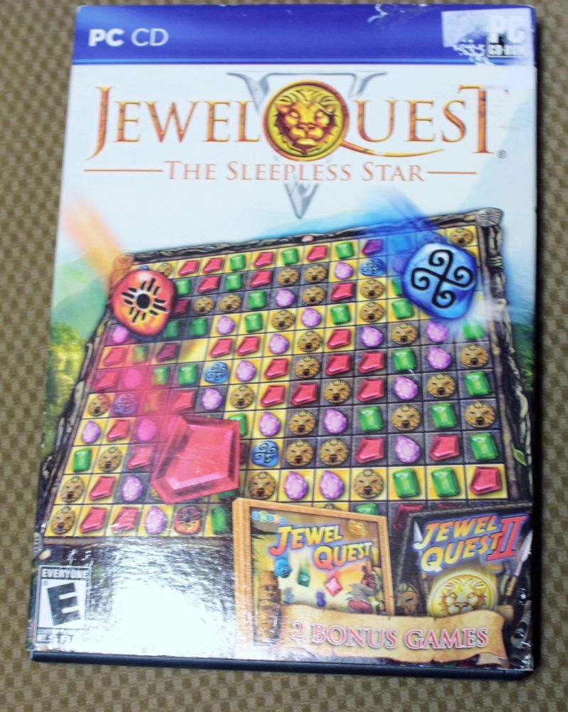 Jewel Quest The Sleepless Star V 5 PC Game Windows 8 7