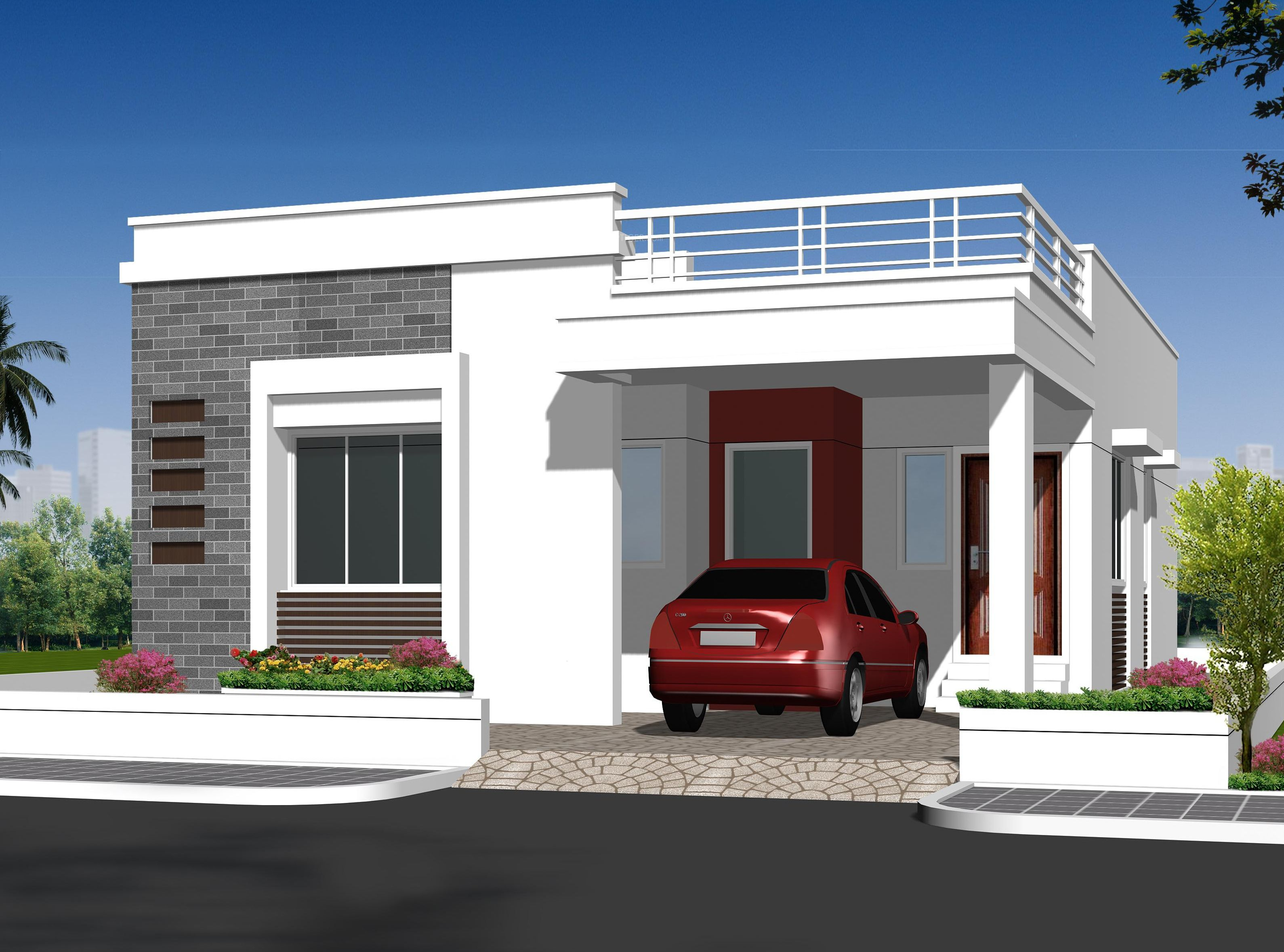 pin by balaji on elevation designs independent house free house rh pinterest com