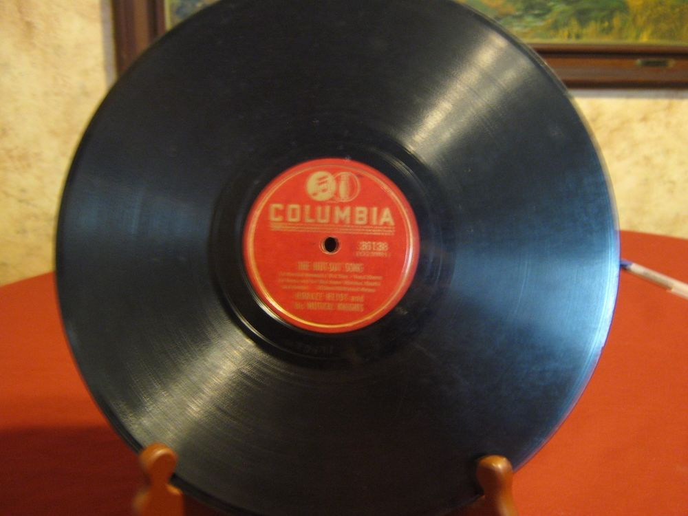 Horace Heidt & his Musical Knights-The Hut-Sut Song-Columbia 78 RPM Record 10"