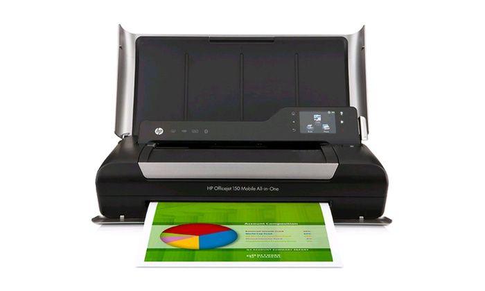 Hp Officejet 150 Mobile All In One Printer Hp Officejet Best Portable Printer Printer