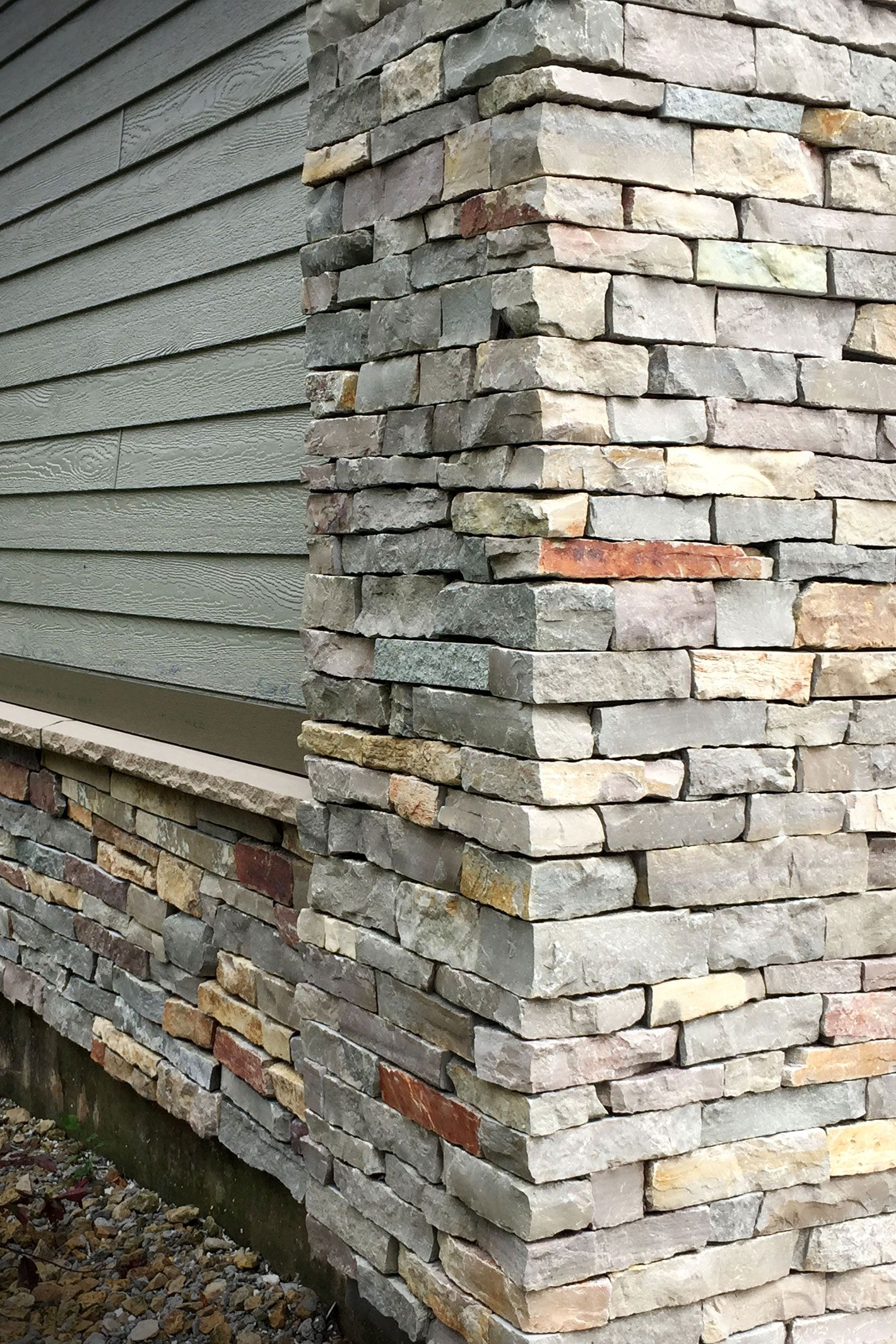 Chilton Ledgestone Exterior Stone Veneer In 2019
