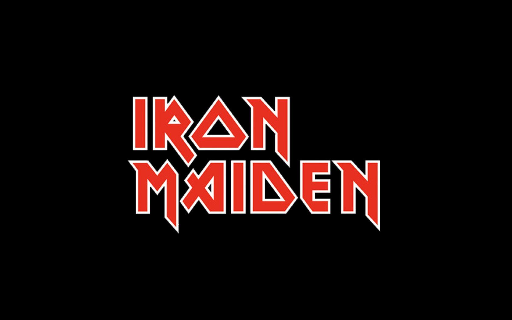 iron maiden logo metal band logos pinterest logos