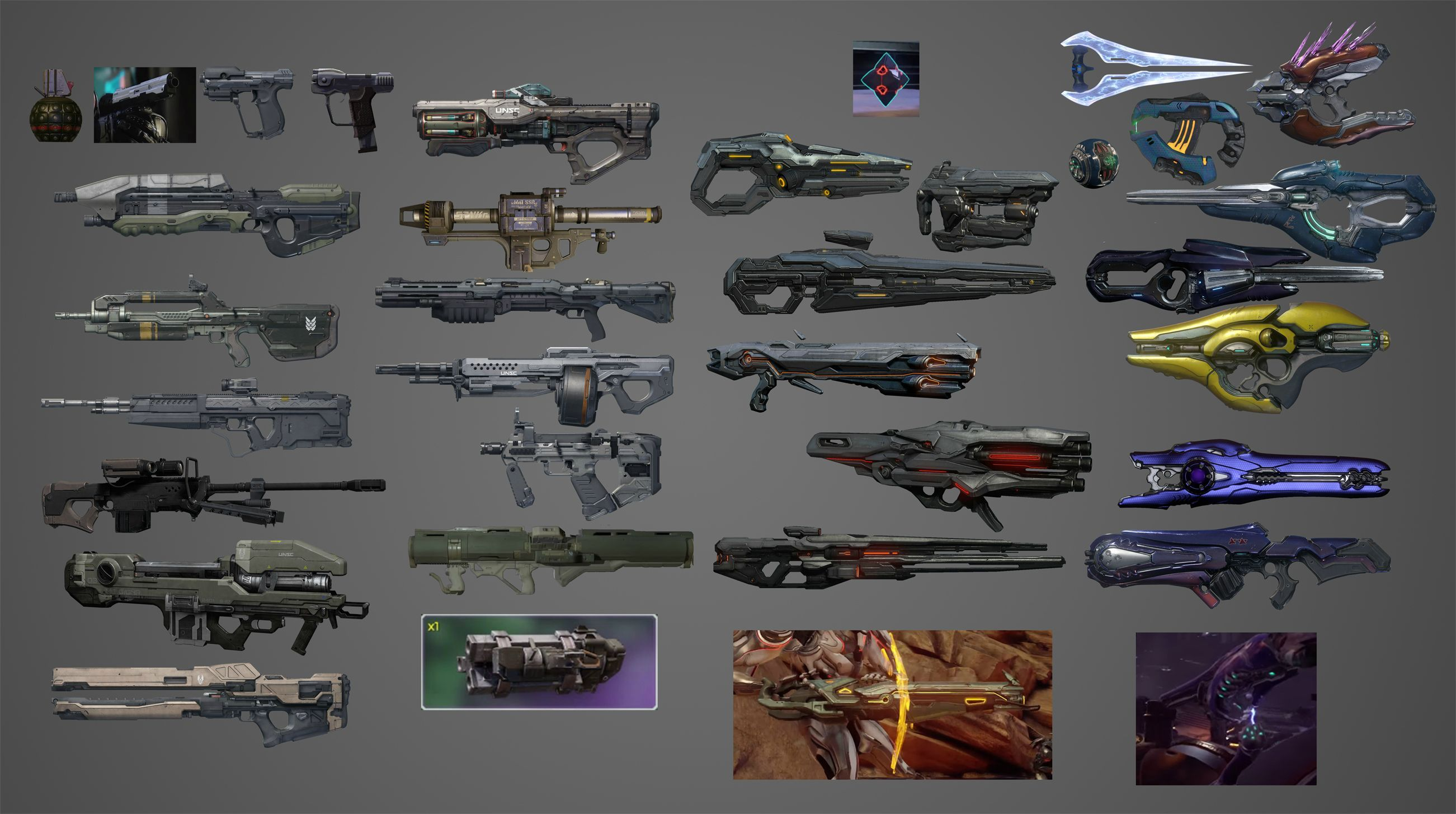 all halo 5 weapons - Google Search | reliquary | Pinterest ...