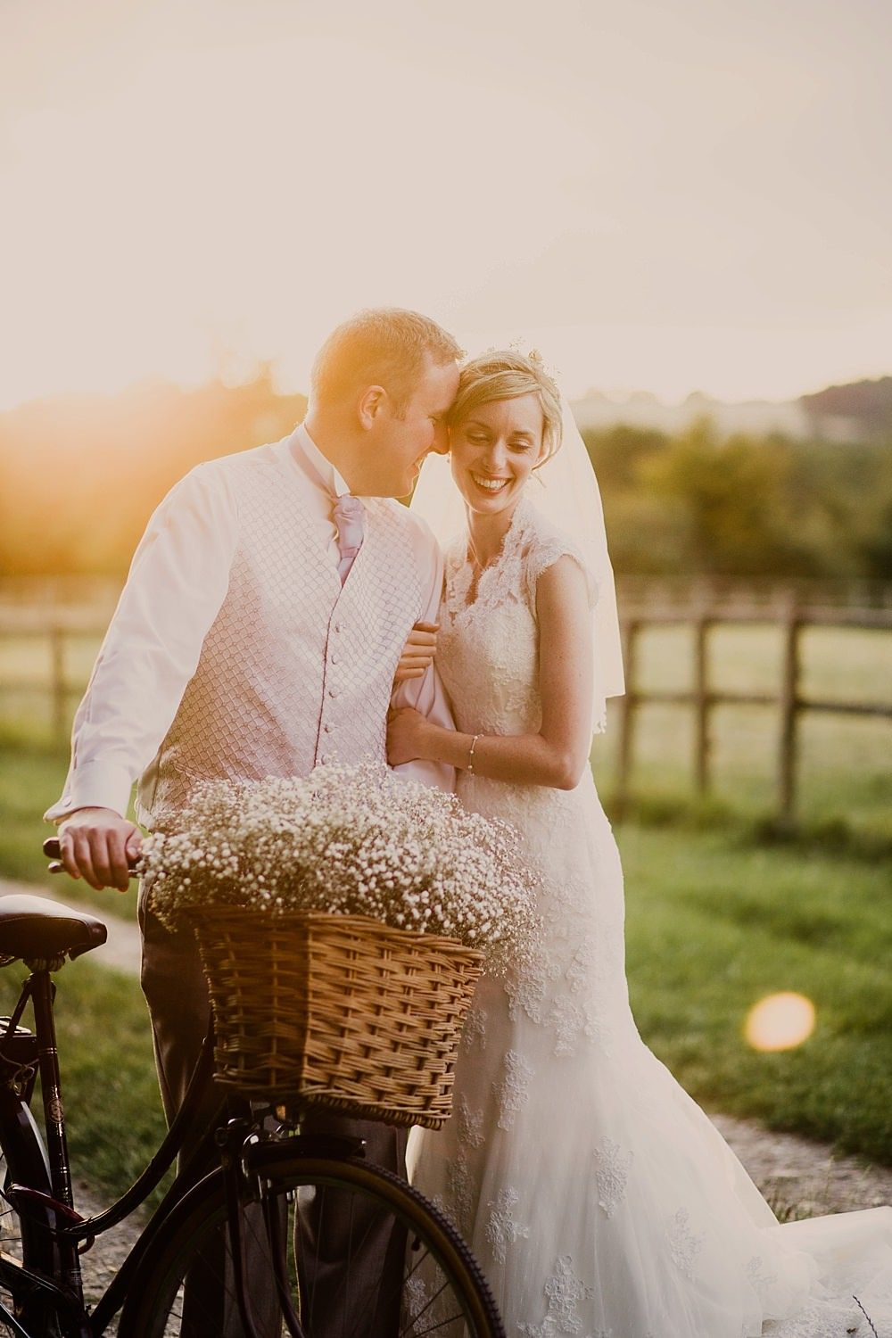 Sottero u midgely lace wedding dress for a rustic country wedding in