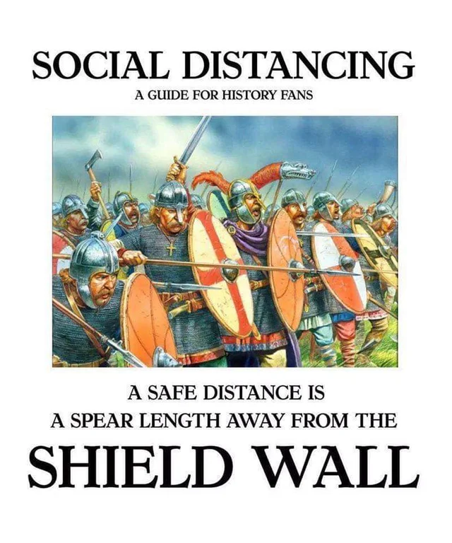 PSA about social distancing HistoryMemes in 2020
