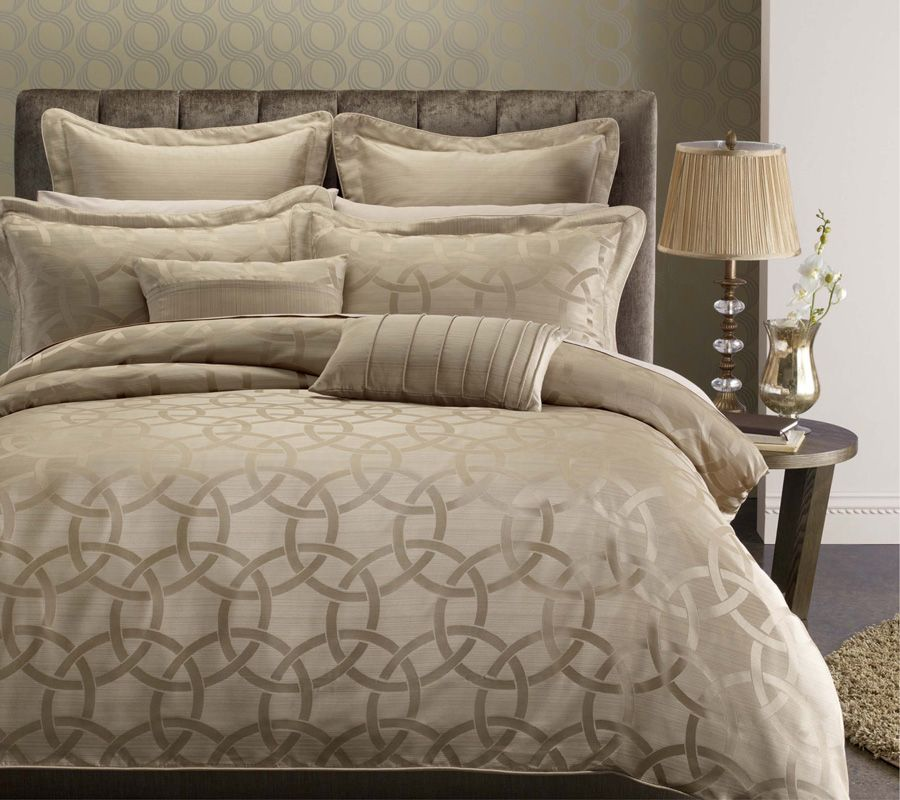 Luxury Platinum Colored Bedding Hotel Collection Bedding