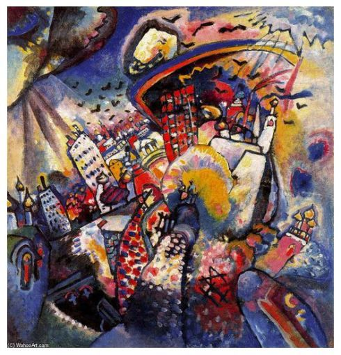 Image from https://wassilykandinskypaintings.files.wordpress.com/2012/10/moscow-painting-by-wassily-kandinsky-wassily-kandinsky-posters-for-sale-wassily-kandinsky-prints-wassily-kandinsky-paintings-list-wassily-kandinsky-famous-paintings-replicas-cheap-f.jpg?w=490&h=510.