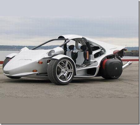 T-Rex Three Wheel Sports Car is Big on Performance   Transportation ...