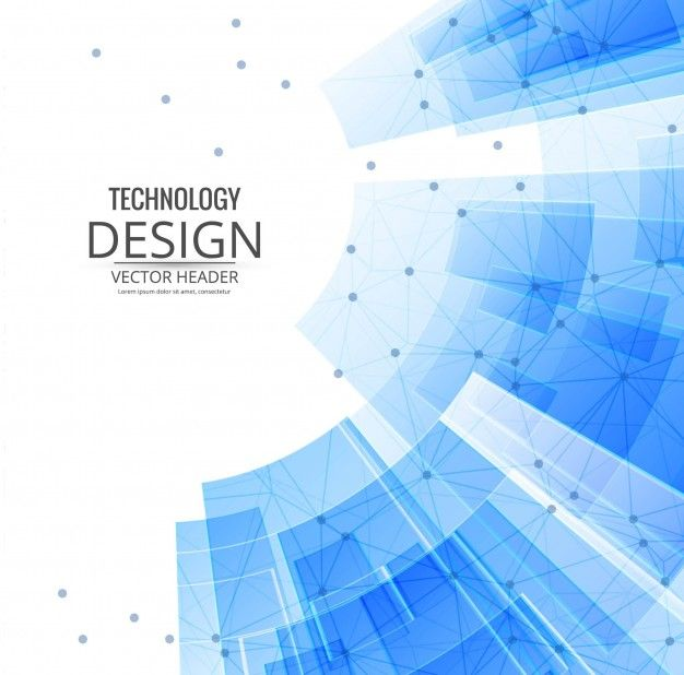 Download Technological Background With Blue Geometric Shapes For Free Free Graphic Design Vector Free Graphic Design Brochure