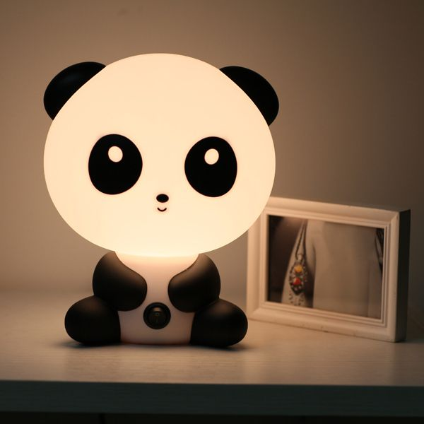 Mini Cartoon Table Lamp Unique Night Lights Kids Lamps Panda Nursery