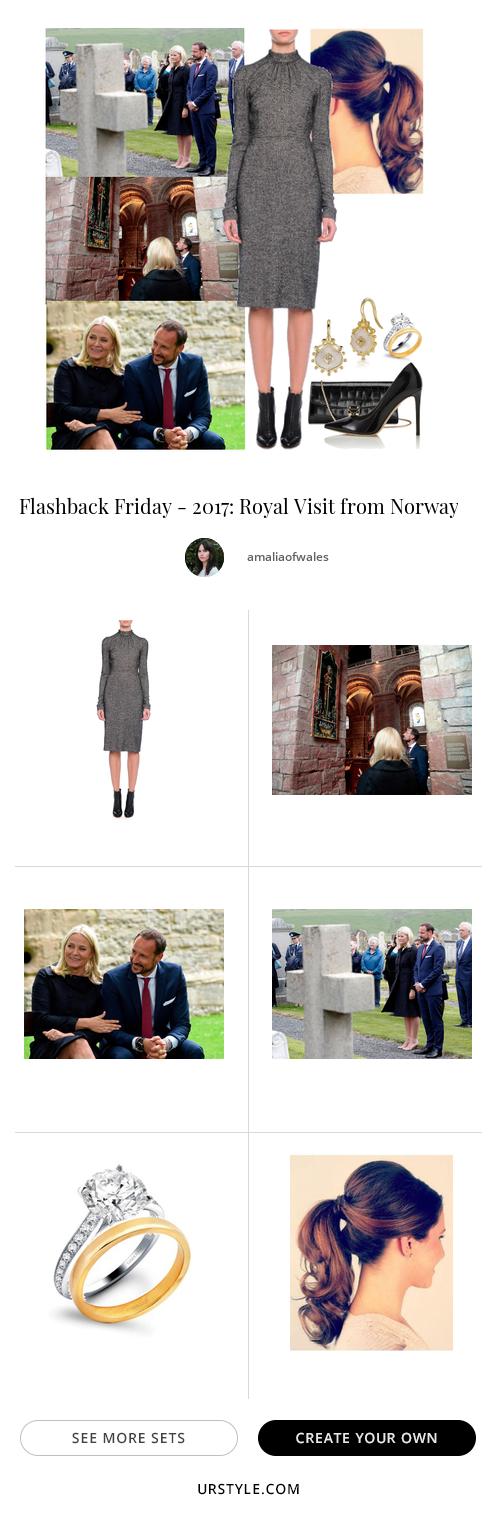 Flashback Friday - 2017: Royal Visit from Norway - Fashion look