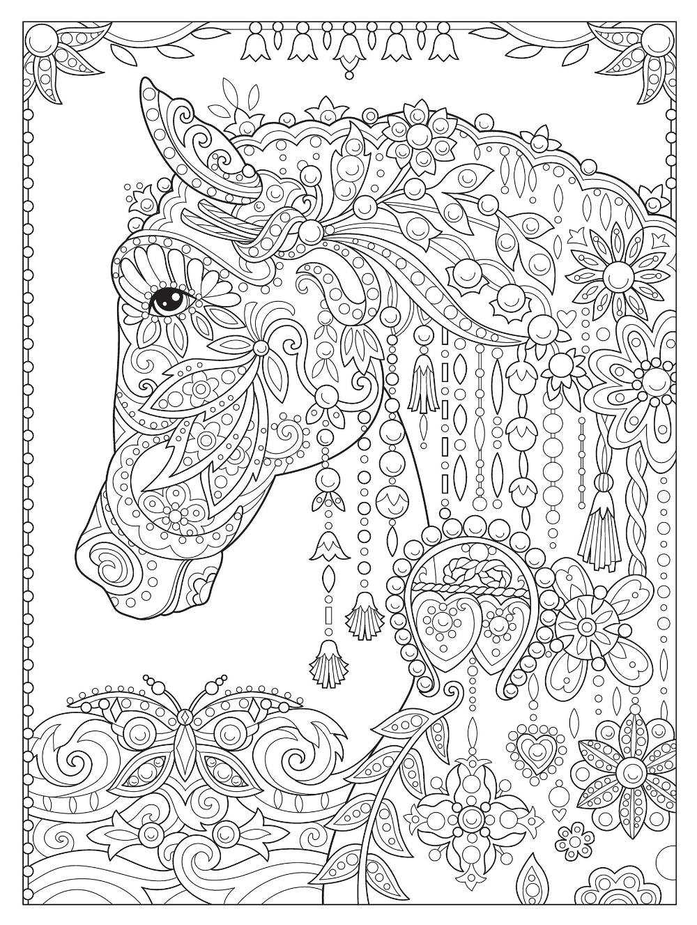 Amazon Com Creative Haven Dream Horses Coloring Book Creative Haven Coloring Books 9780486 Horse Coloring Pages Pattern Coloring Pages Horse Coloring Books