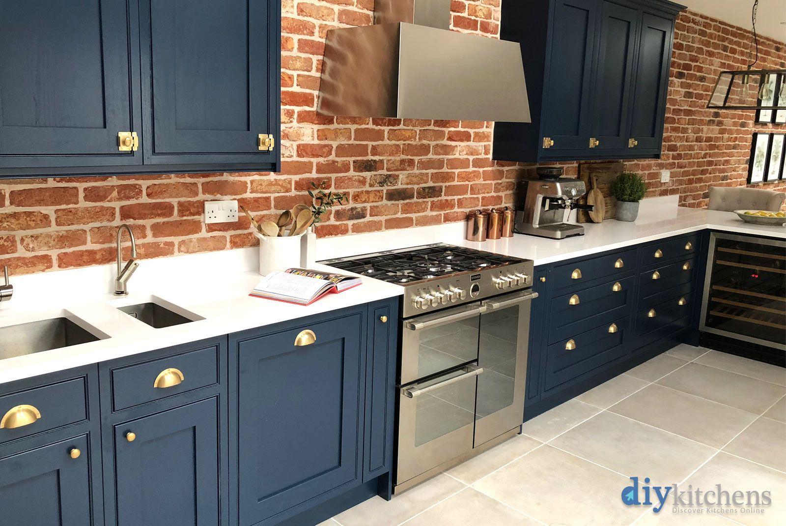 An Innova Helmsley Bespoke Painted Inframe Kitchen
