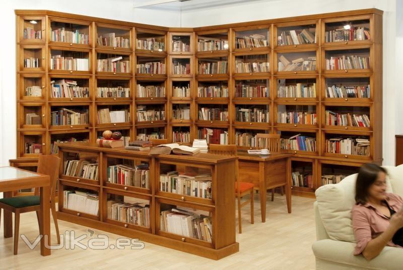Bibliotecas De Madera Buscar Con Google Bookshelves In 2018 - Bibliotecas-de-madera