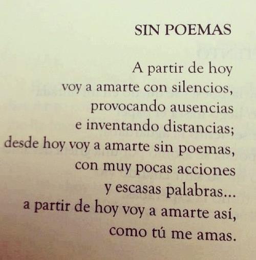 ...sin poemas.