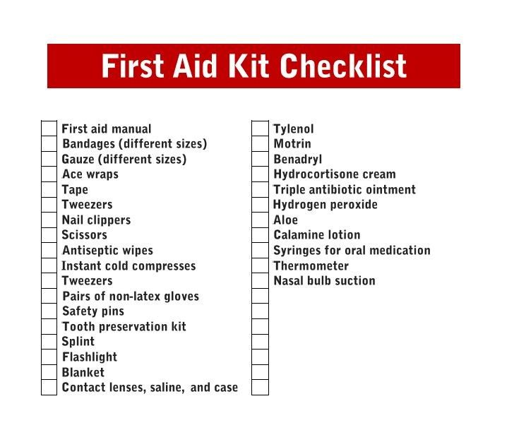 The First Aid Essentials Every Mom Needs Free Printables  A