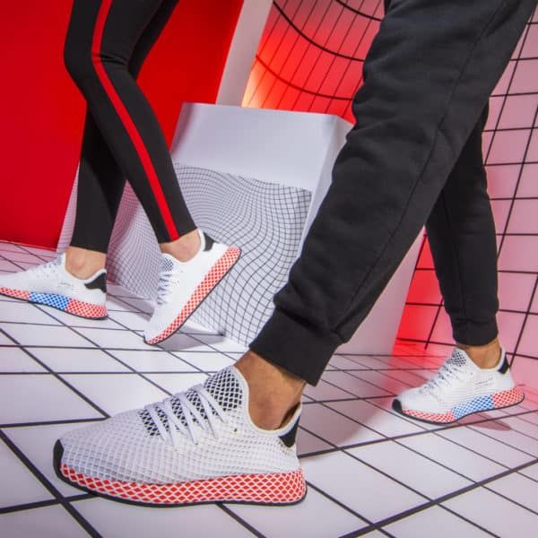 separation shoes 8c04d 02083 adidas Deerupt White amp Red adidas adidasdeerupt deerupt  adidasoriginals TagsForLikes