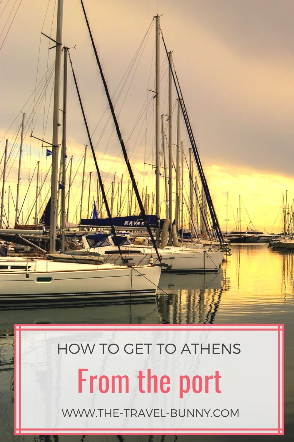 How to get to Athens from the port of Piraeus, Rafina or Lavrio | Visit Athens #visitgreece