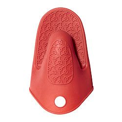 IKEA - STINN, Oven mitt, Silicone provides a firm grip and is heat-isulating.Dishwasher-safe; easy to keep clean.