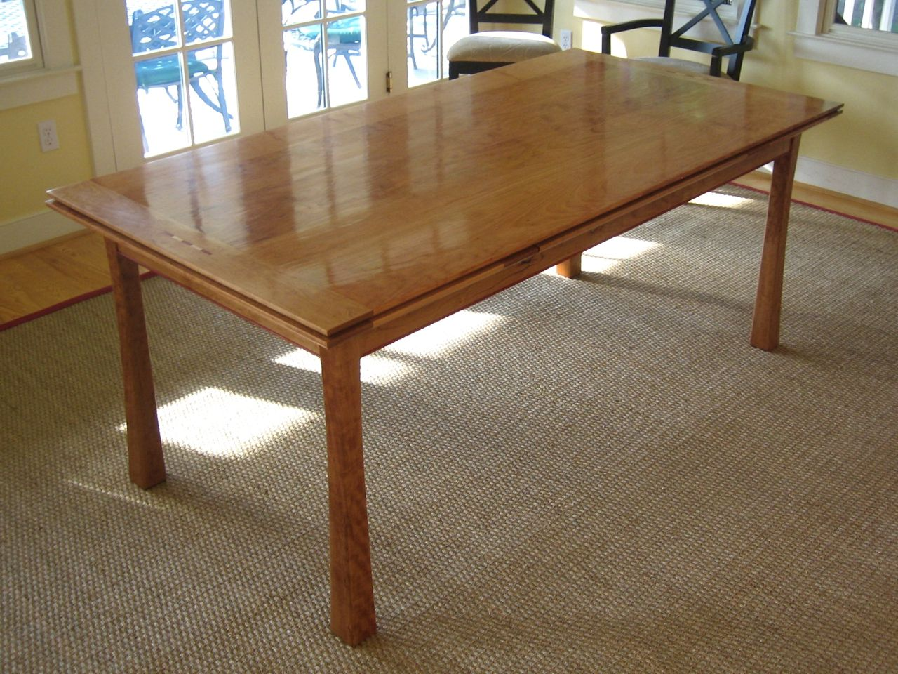 This Extension Dining Table Is A Pleasure To Use And Behold The Operation Of Leaves Based On Tage Frids Dutch Pull Out Design Meaning Th