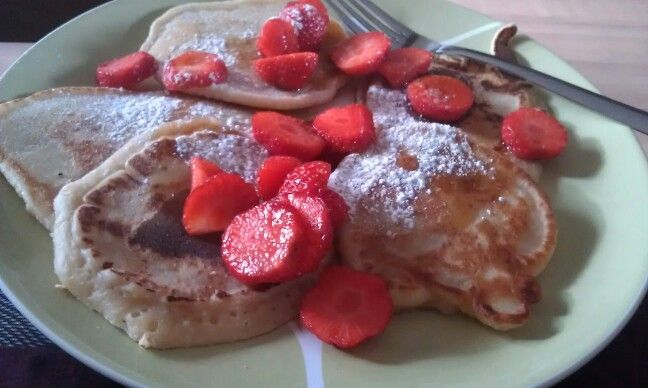 American pancakes, still need some practise