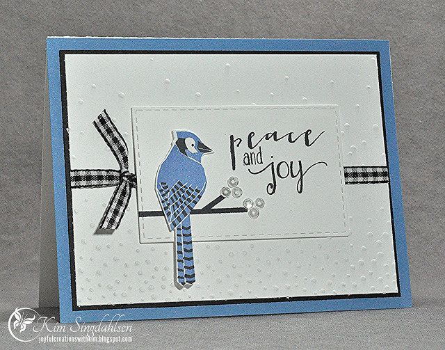 Joyful Creations with Kim: Merry Monday: Peace & Joy