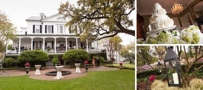 Laura Tom Governor Thomas Bennett House Charleston Weddings The Wedding Row Thomas Bennett House Charleston Wedding Wedding Pictures
