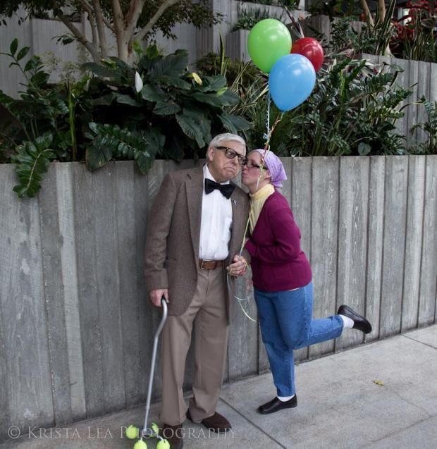 Hallowen Costume S My Wife And Father In Law Cosplaying Carl Ellie From Up