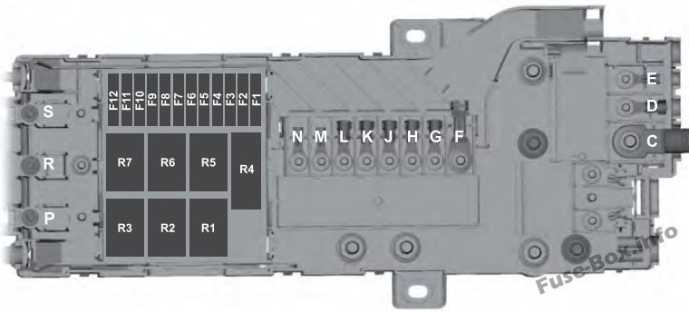 [GJFJ_338]  Pre-fuse Box: Ford Transit (2016, 2017, 2018. 2019) | Ford transit, Fuse box,  Fuse panel | 2015 R1 Fuse Box Location |  | Pinterest