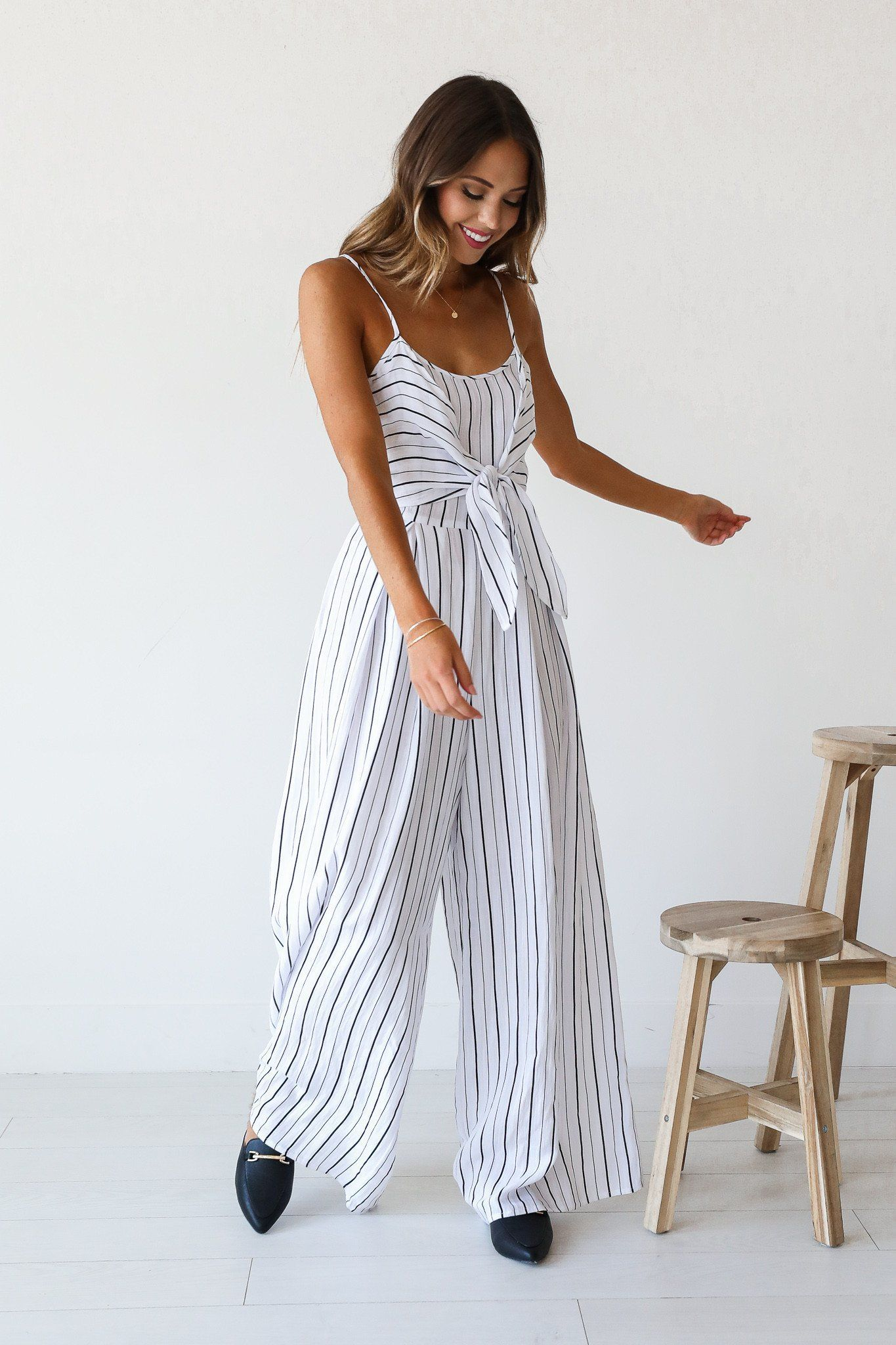 78fabacd089e Lido Deck Striped Jumpsuit
