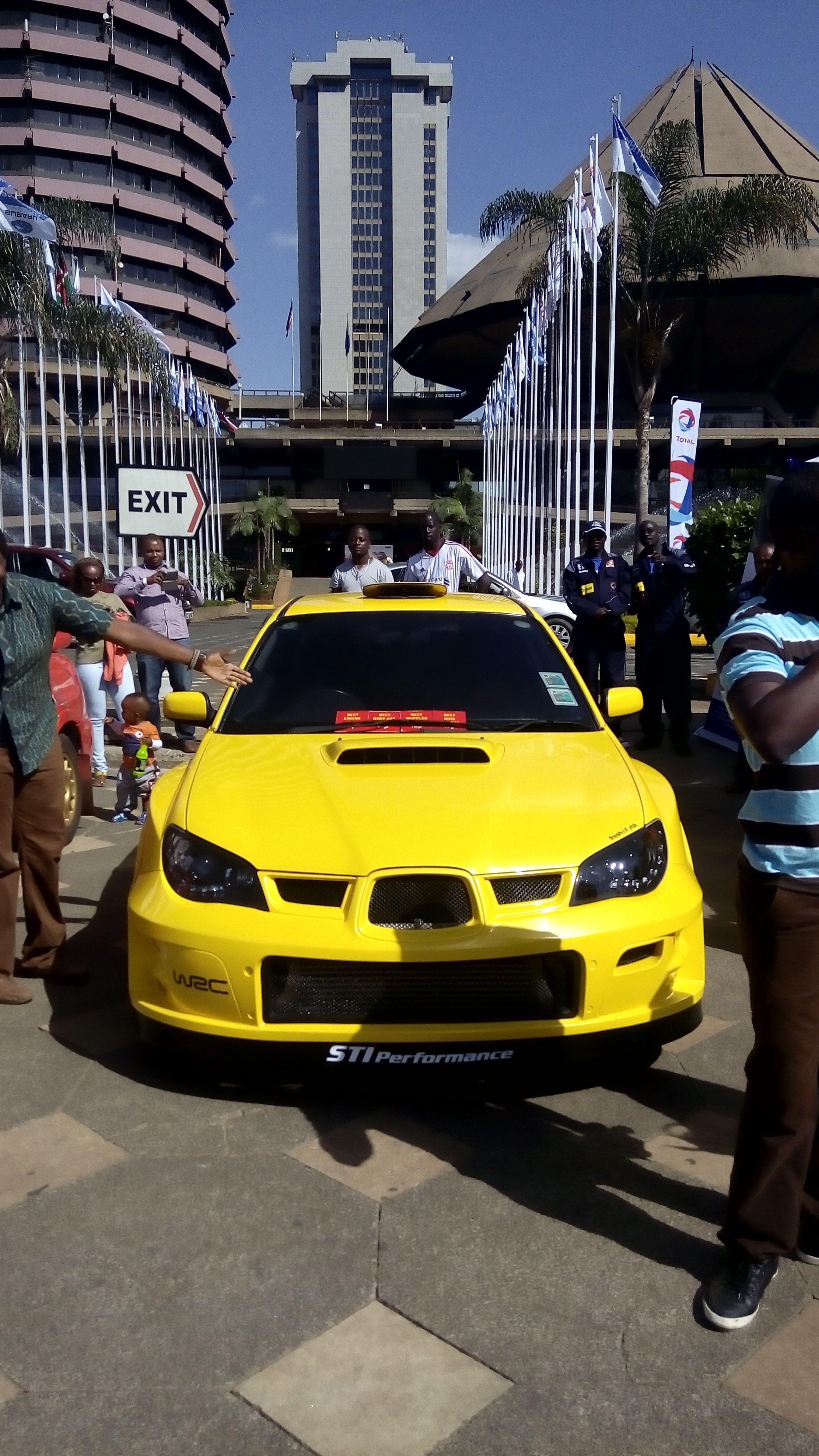 Subaru Confidence In Motion Motor Fest Kicc Nairobi Kenya With