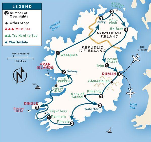 Ireland Itinerary Where To Go In Ireland By Rick Steves Ireland