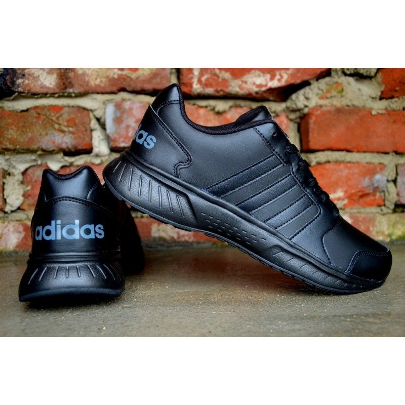 Adidas Vs Star Aw3887 All Black Sneakers Shoes Black Sneaker