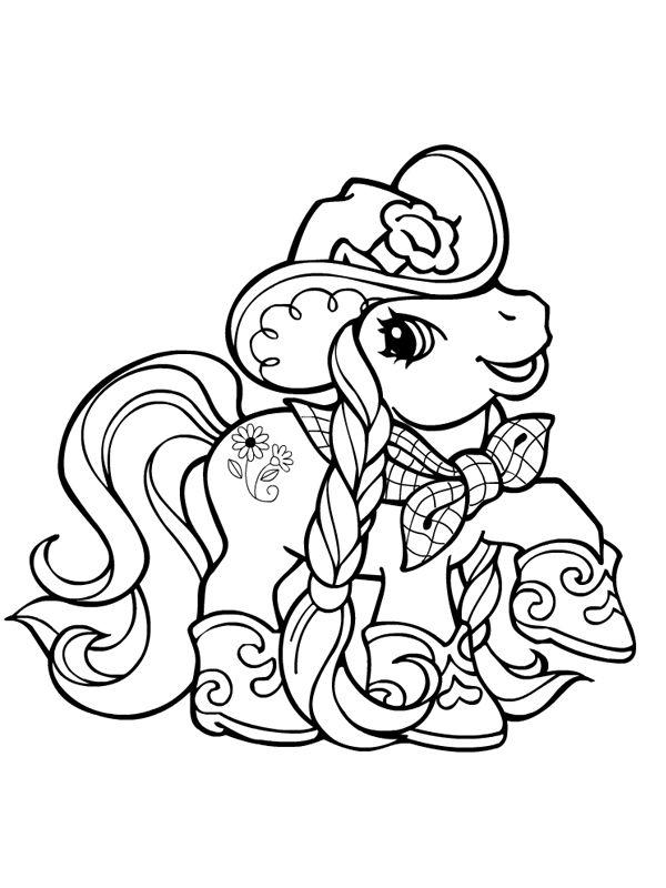 Petit poney déguisée en cowboy   Kids play and craft   Pinterest ...