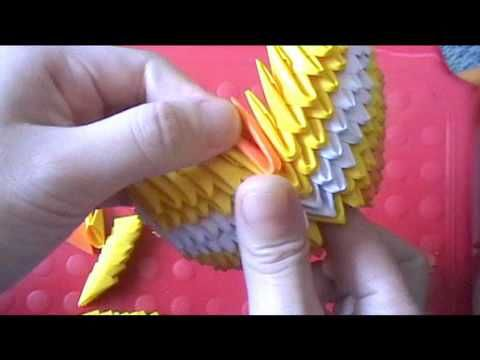 3d Origami Koi Fish Part 2 Crafts Origami Tutorials Pinterest