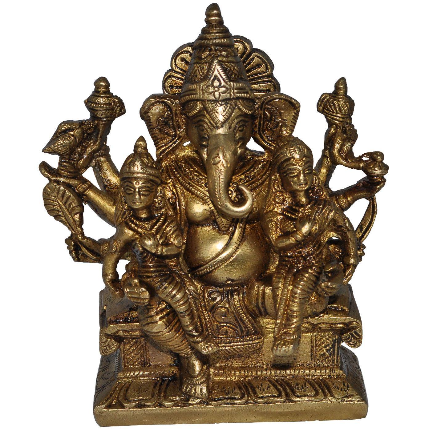 Ganesh Brass Statue, Ganesh Garden Statue, Ganesh Statue
