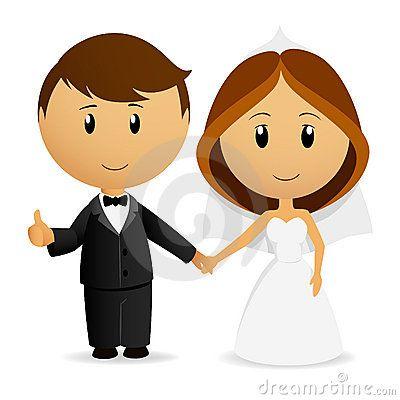 Cute Cartoon Wedding Couple Couple Cartoon Couple Illustration Wedding Couples