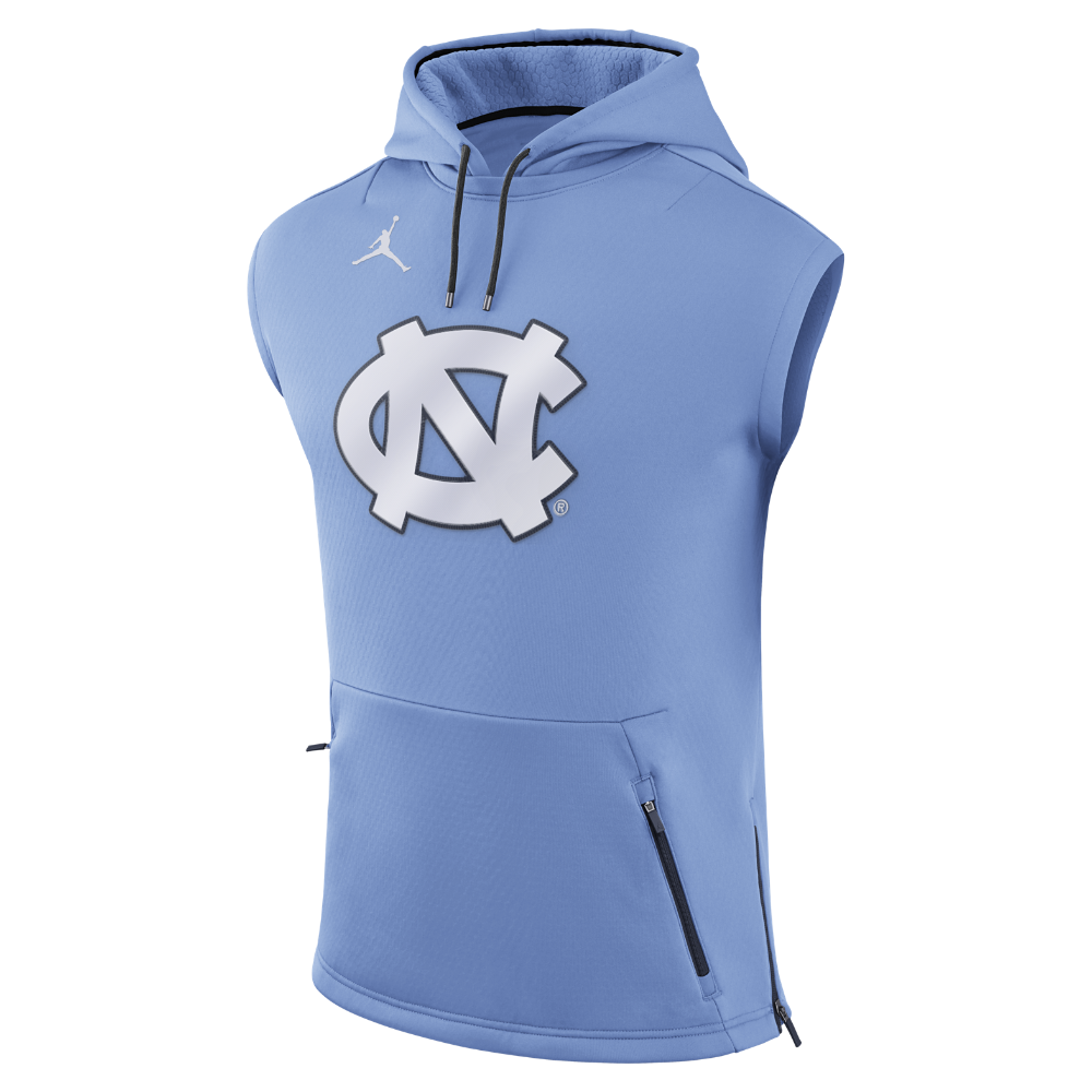 Jordan College Tech Sphere (UNC) Men's Sleeveless Hoodie, by Nike Size